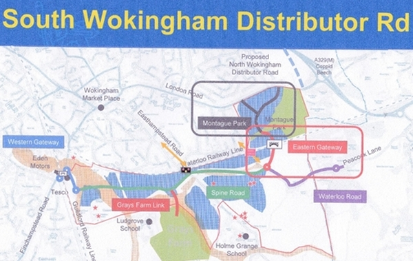 South Wokingham Distibutor Road photo